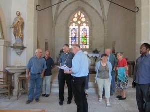 Visite évêque à DROM (2)