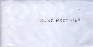 Enveloppe courrier ARCMA 2014 09 06