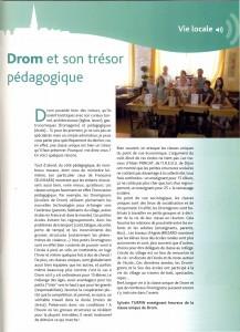 Le trésor pédagogique de DROM