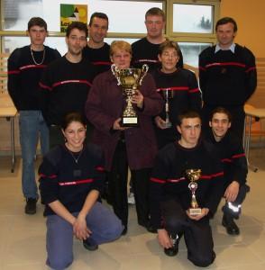 Les pompiers de Drom remportent le premier challenge Daniel Carrier