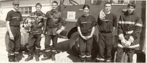 Formation pour les jeunes pompiers