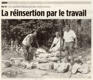 Chantier de réinsertion