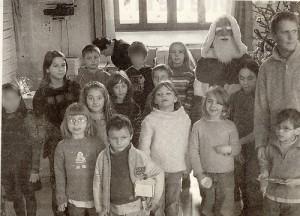 Le Père Noël à l'école !