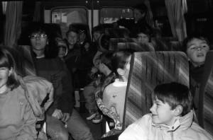 1995 : les Dromignons partent au ski