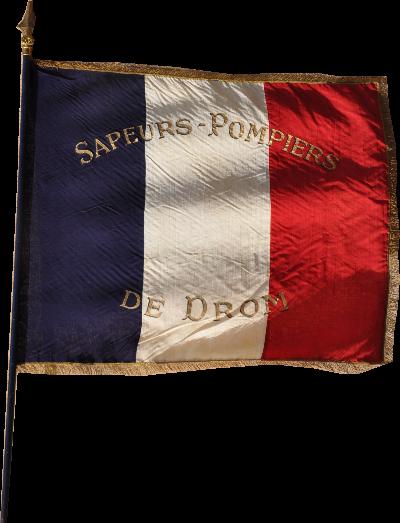 Le Drapeau des Pompiers de Drom a eu 60 ans le 11 novembre 2014
