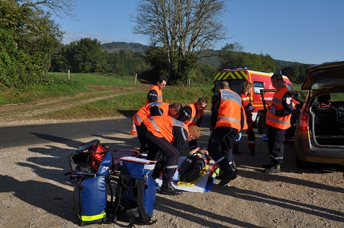 Manoeuvre secours routier