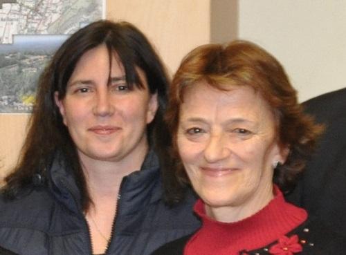 Sousanna AVIET et Marie-Thérèse GENIN, actuelles présidente et trésorière du Comité de Fleurissement de DROM