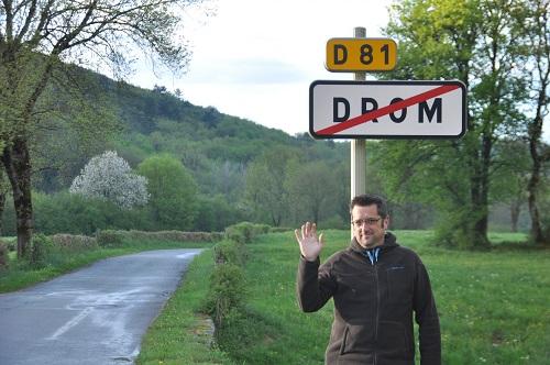 Drom, c'est fini pour le cantonnier . . .
