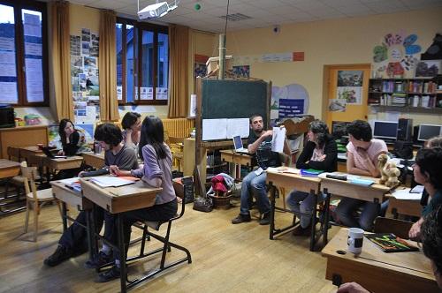 Sylvain Turpin présente les actions locales