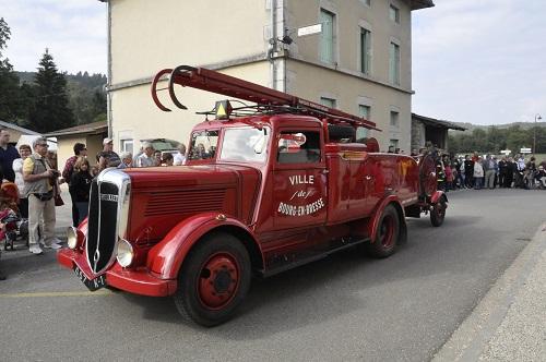 Le véhicule de premiers secours de 1937