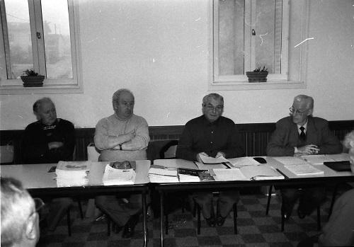 Présidée par Marcel Morel, la Fédération Départemental e des Aînés Ruraux vient à la rencontre du club de l'Age d'Or.