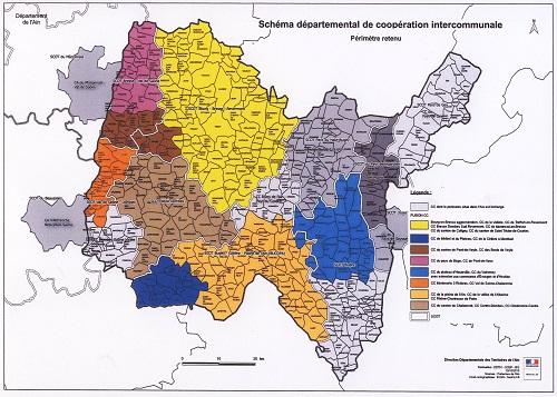 Projet de réorganisation, par l'Etat, des intercommunalités de l'Ain