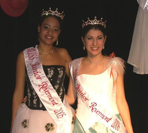 Miss Junior Revermont 2006 est une jeune Dromnière  !