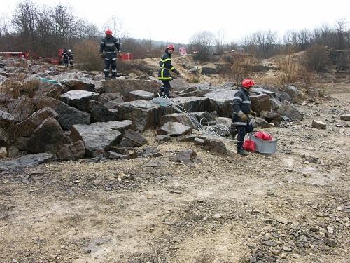 Eboulement rocheux à la carrière de Drom : neuf personnes portées sont disparues