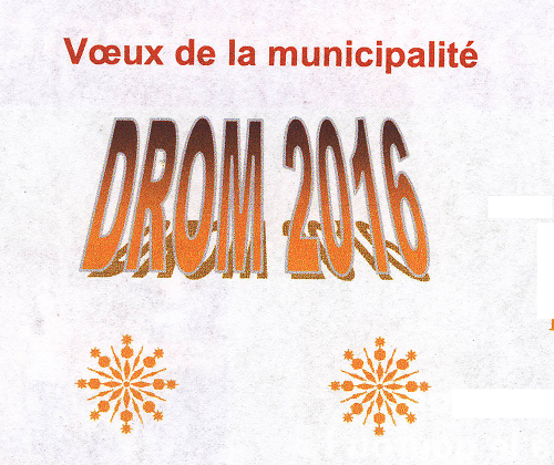 DROM Voeux 2016