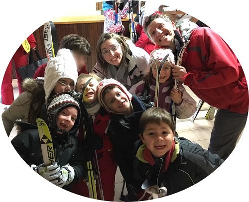 Dromignons au ski 2