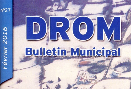 Bulletin Municipal DROM 2016