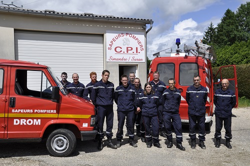 Formation Sapeurs Pompiers 01