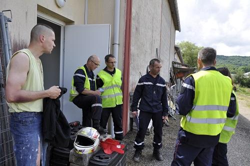 Formation Sapeurs Pompiers 03