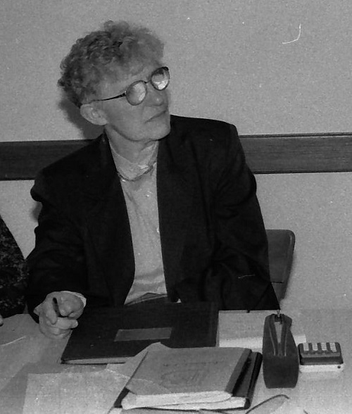 Rosette présentait les comptes en assemblée générale
